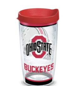 TERVIS Ohio State Buckeyes 16oz Tervis Tradtions Tumbler