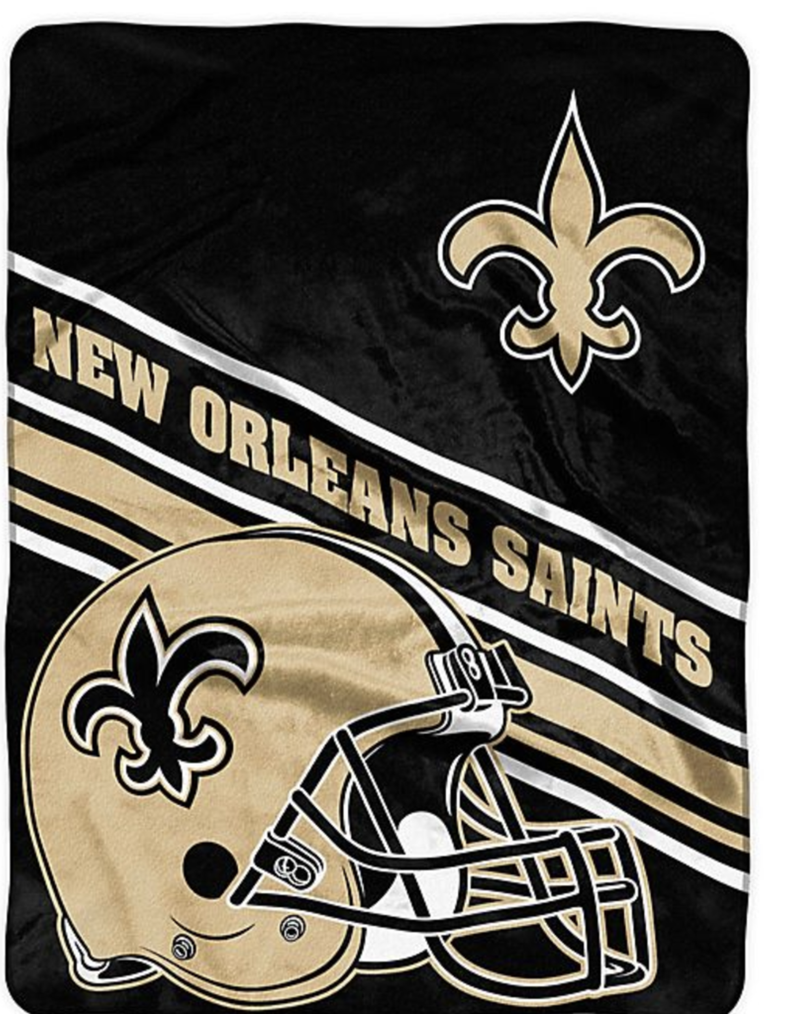 NORTHWEST New Orleans Saints 60in x 80in Silk Touch Throw Wrap