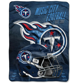 "NORTHWEST Tennessee Titans 60""x80"" Silk Touch State Pride Throw Blanket"