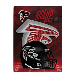 "NORTHWEST Atlanta Falcons 60""x80"" Silk Touch State Pride Throw Blanket"