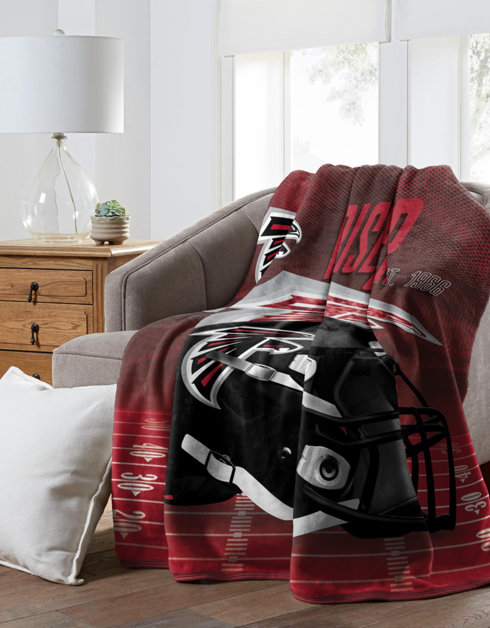 "NORTHWEST Atlanta Falcons 60""x80"" Silk Touch State Pride Throw Blanket"
