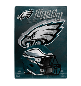 "NORTHWEST Philadelphia Eagles 60""x80"" Silk Touch State Pride Throw Blanket"