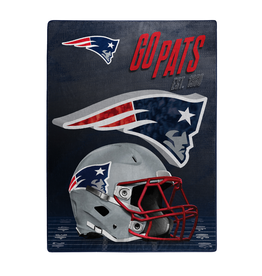 "NORTHWEST New England Patriots 60""x80"" Silk Touch State Pride Throw Blanket"