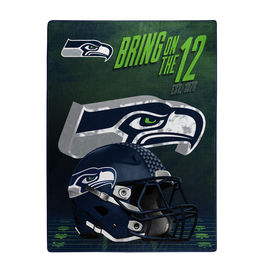 "NORTHWEST Seattle Seahawks 60""x80"" Silk Touch State Pride Throw Blanket"