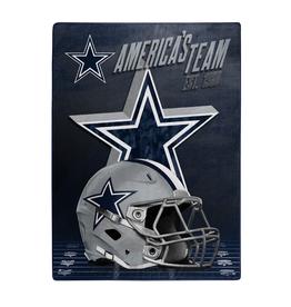 "NORTHWEST Dallas Cowboys 60""x80"" Silk Touch State Pride Throw Blanket"