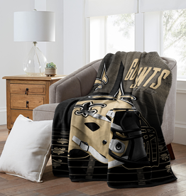 "NORTHWEST New Orleans Saints 60""x80"" Silk Touch State Pride Throw Blanket"