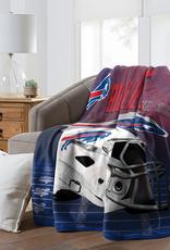 """NORTHWEST Buffalo Bills 60""""x80"""" Silk Touch State Pride Throw Blanket"""