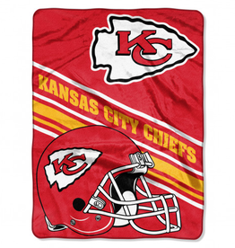 NORTHWEST Kansas City Chiefs 60in x 80in Silk Touch Throw Wrap