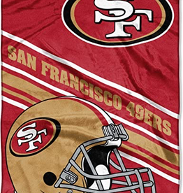 NORTHWEST San Francisco 49ers 60in x 80in Silk Touch Throw Wrap