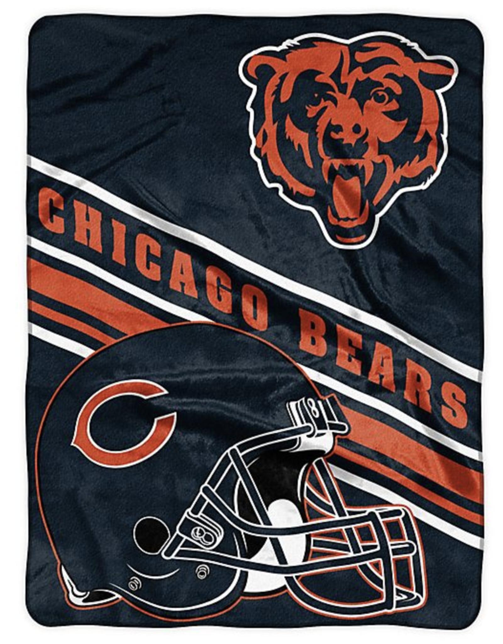 NORTHWEST Chicago Bears 60in x 80in Silk Touch Throw Wrap