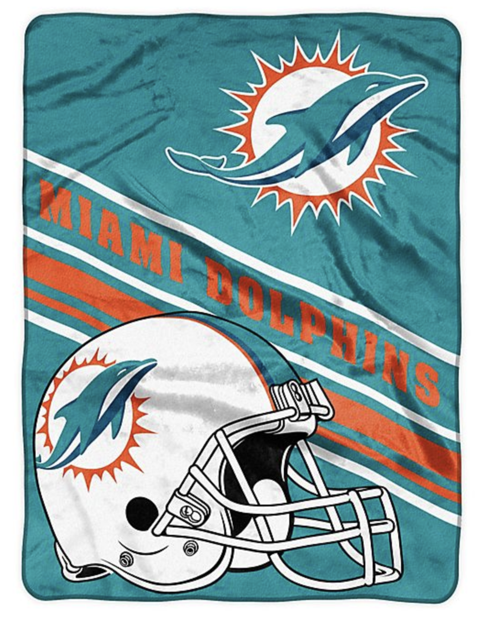 NORTHWEST Miami Dolphins 60in x 80in Silk Touch Throw Wrap