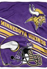 NORTHWEST Minnesota Vikings 60in x 80in Silk Touch Throw Wrap