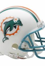 RIDDELL Miami Dolphins Mini Speed Helmet