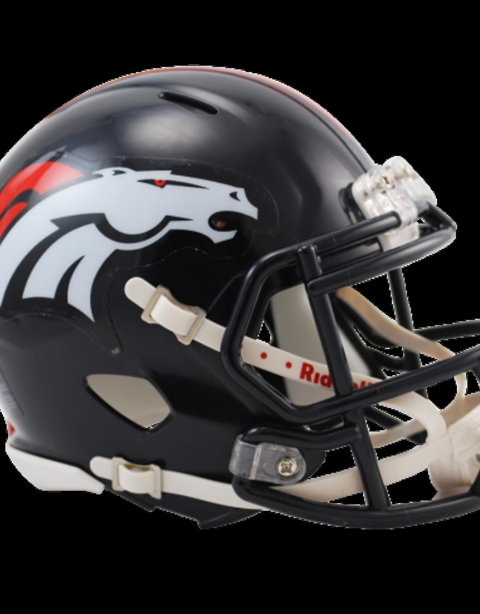 RIDDELL Denver Broncos Mini Speed Helmet