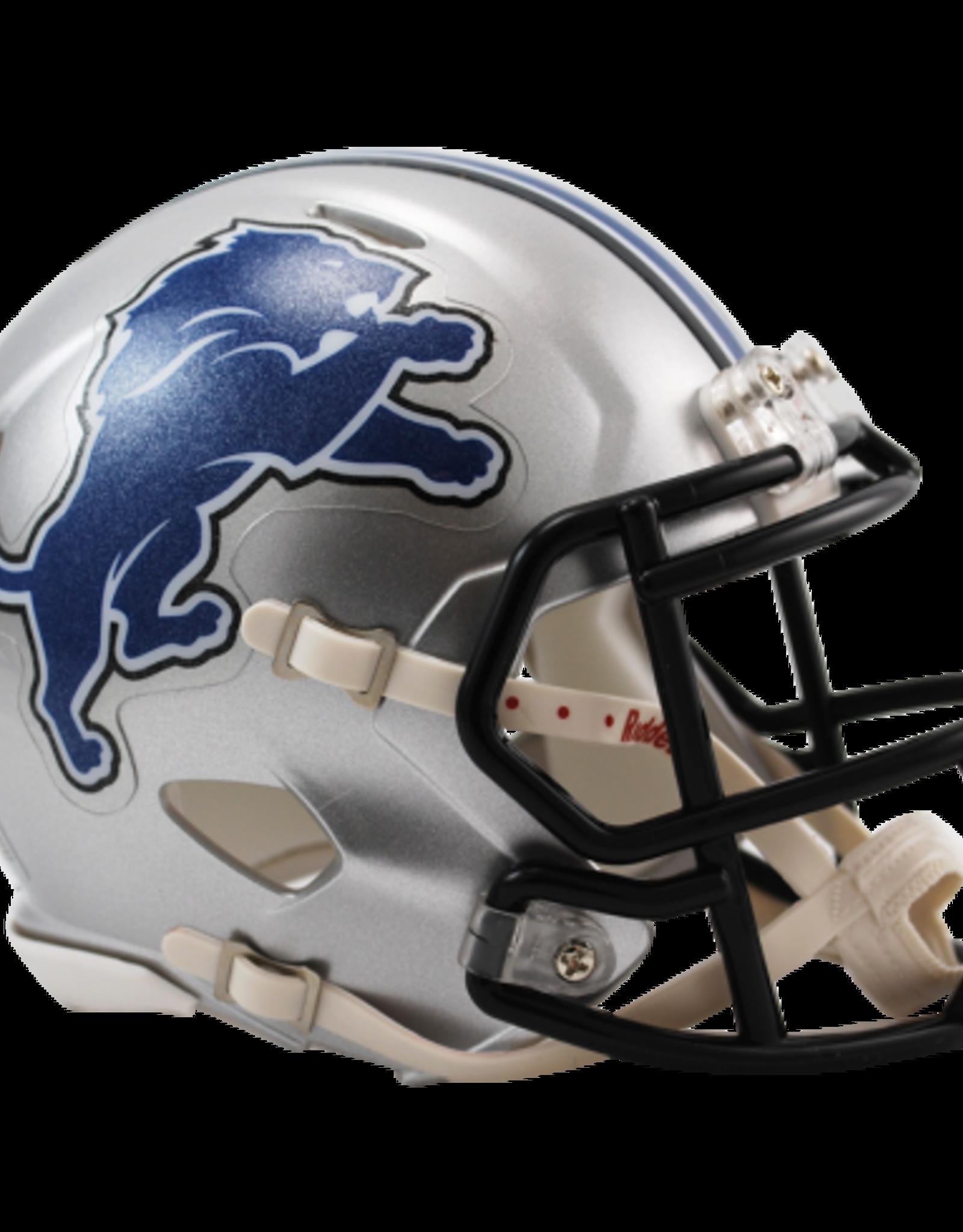 RIDDELL Detriot Lions Mini Speed Helmet