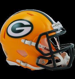 RIDDELL Green Bay Packers Mini Speed Helmet