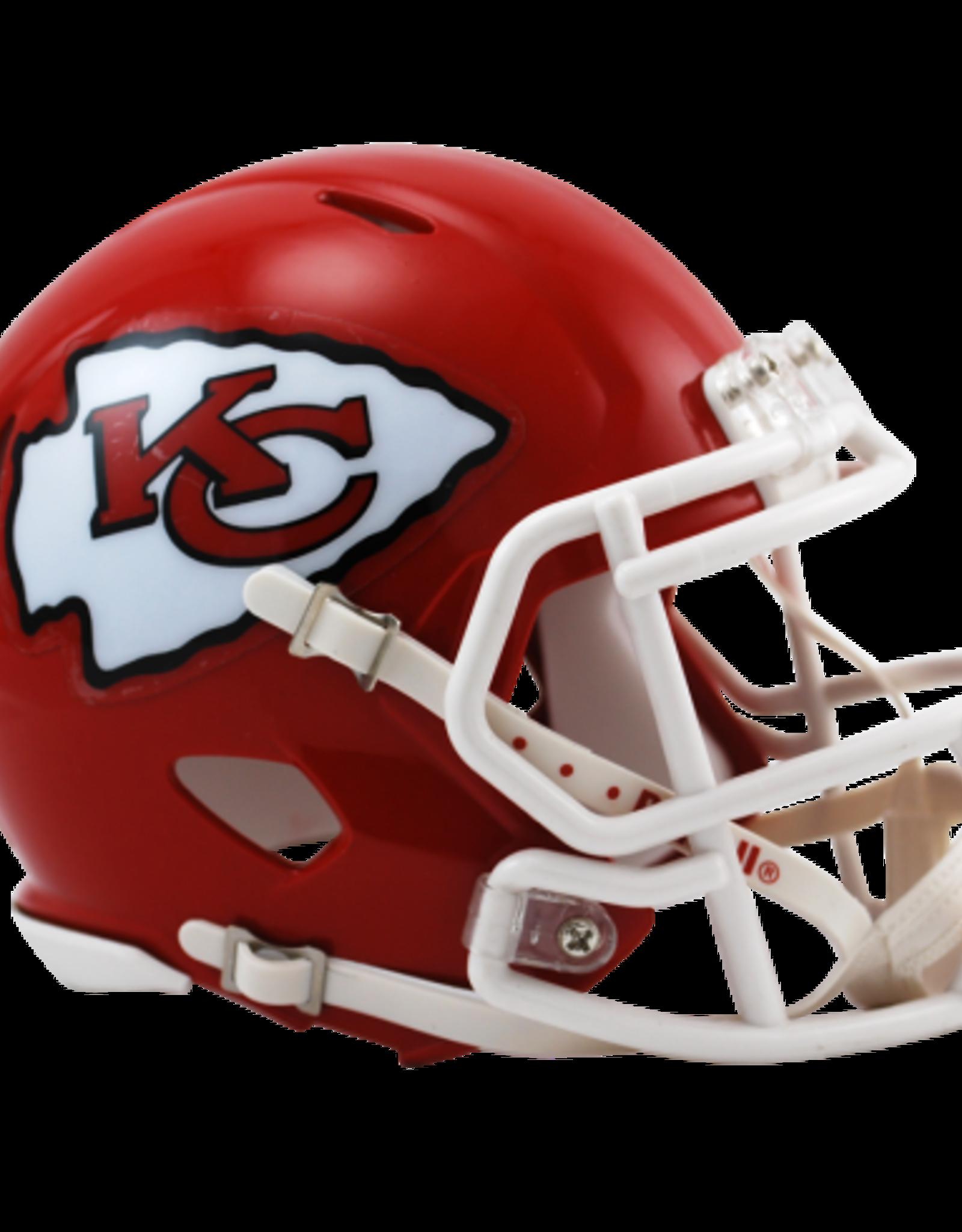 RIDDELL Kansas City Chiefs Mini Speed Helmet