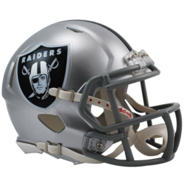 RIDDELL Las Vegas Raiders Mini Speed Helmet