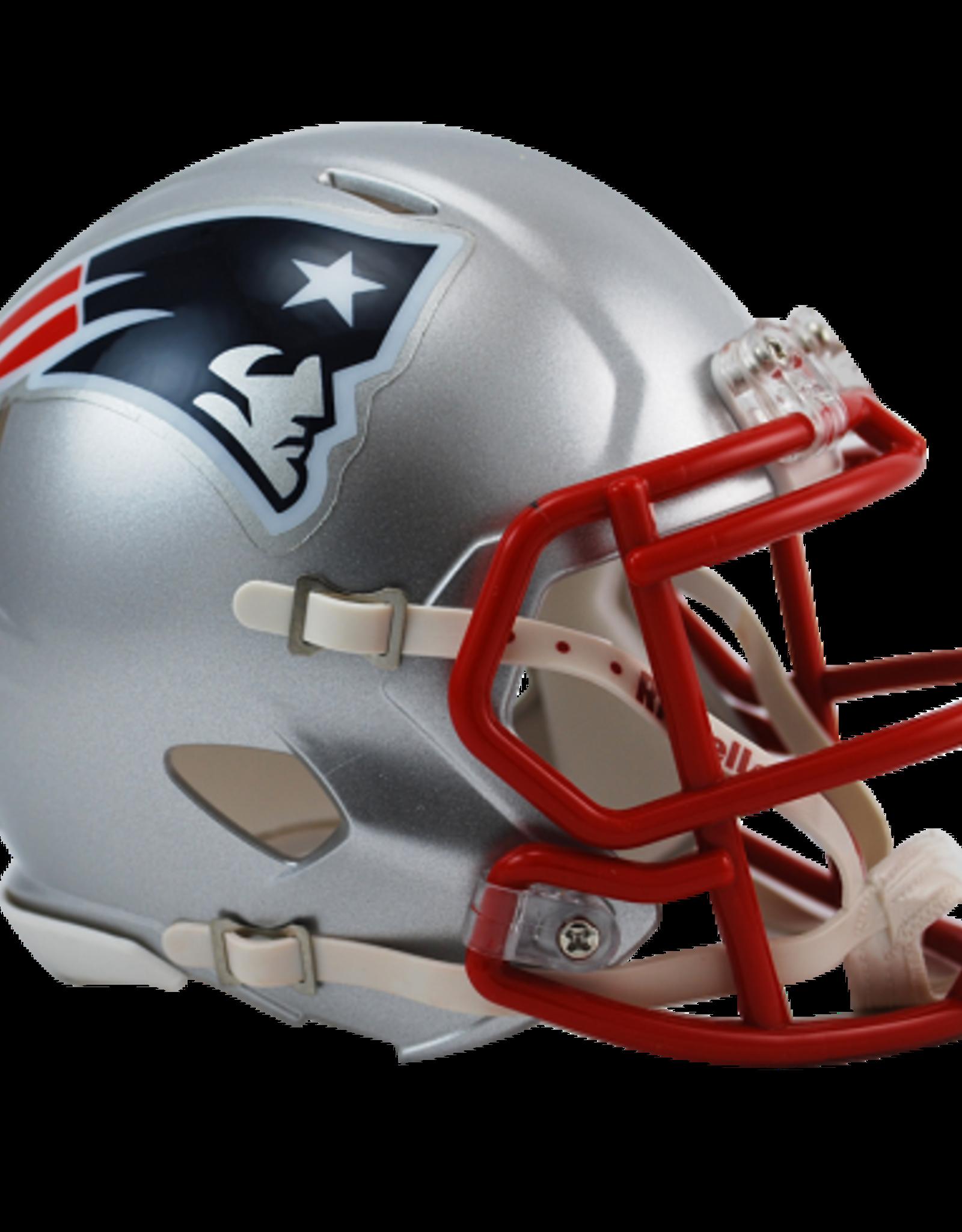 RIDDELL New England Patriots Mini Speed Helmet