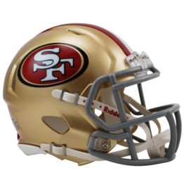 RIDDELL San Francisco 49ers Mini Speed Helmet
