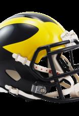 RIDDELL Michigan Wolverines Mini Speed Helmet