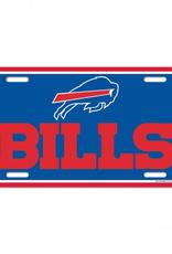 WINCRAFT Buffalo Bills Plastic License Plate