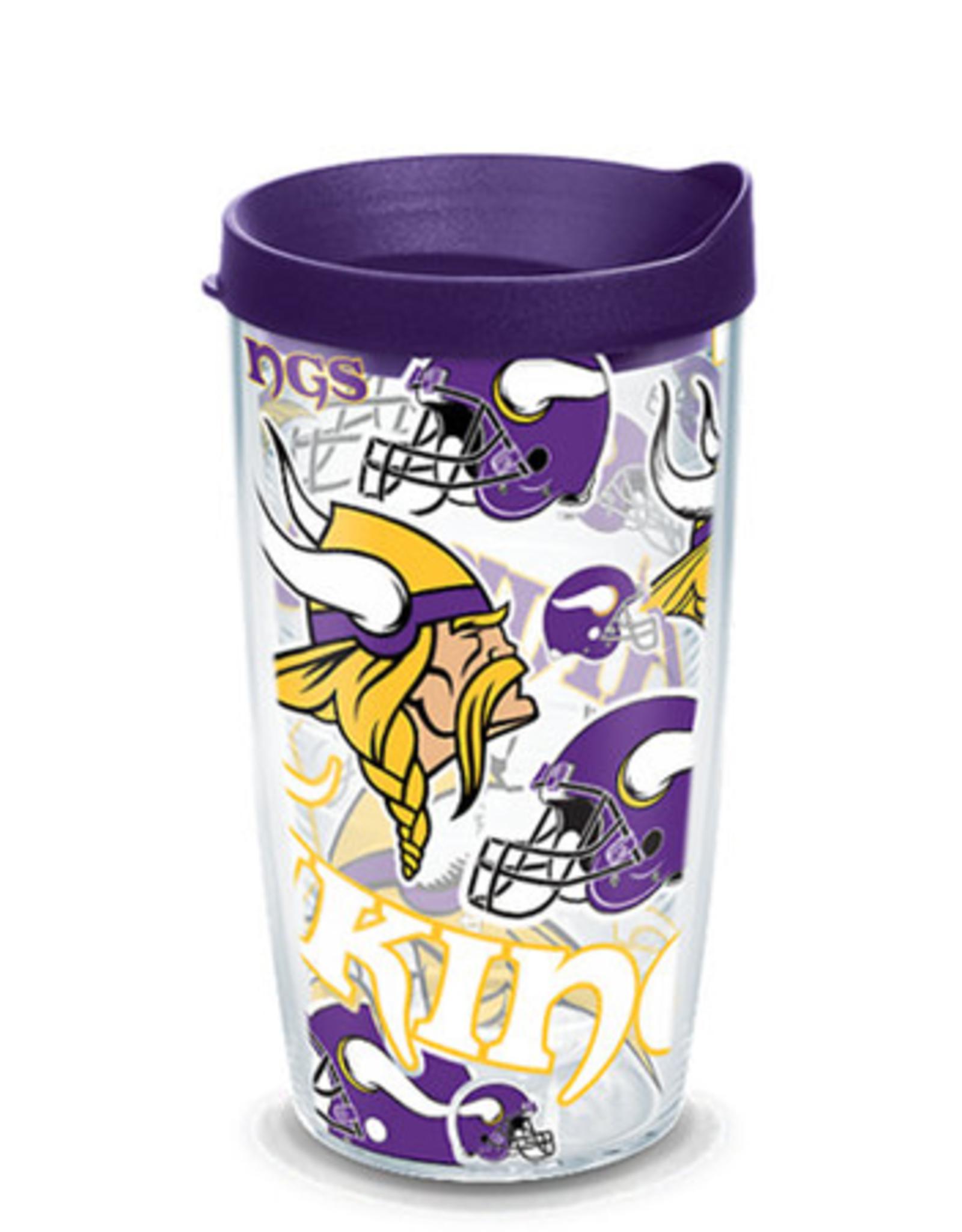 TERVIS Minnesota Vikings 16oz Tervis All Over Print Tumbler