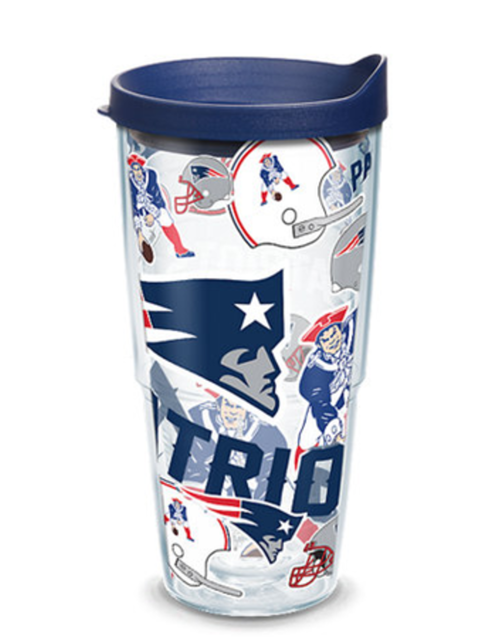TERVIS New England Patriots 24oz Tervis All Over Print Tumbler