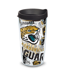 TERVIS Jacksonville Jaguars 16oz Tervis All Over Print Tumbler