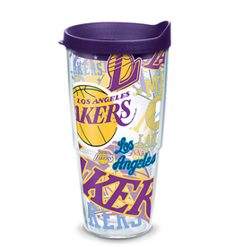 TERVIS Los Angeles Lakers 24oz Tervis All Over Print Tumbler