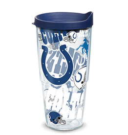 TERVIS Indianapolis Colts 24oz Tervis All Over Print Tumbler