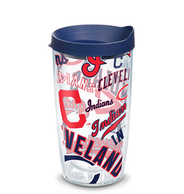 TERVIS Cleveland Indians 16oz Tervis All Over Print Tumbler