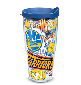 TERVIS Golden State Warriors 24oz Tervis All Over Print Tumbler