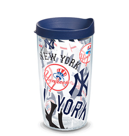 TERVIS New York Yankees 16oz Tervis All Over Print Tumbler