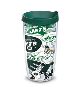 TERVIS New York Jets 16oz Tervis All Over Print Tumbler