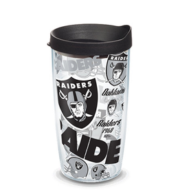 TERVIS Oakland Raiders 16oz Tervis All Over Print Tumbler