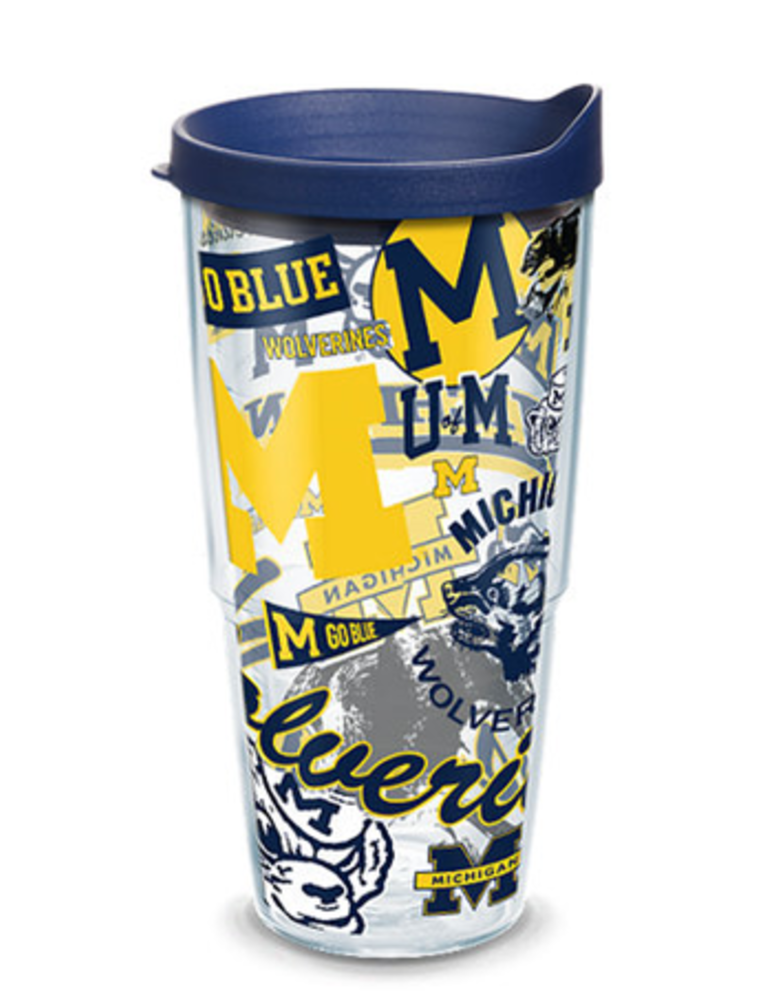 TERVIS Michigan Wolverines 24oz Tervis All Over Print Tumbler