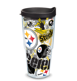 TERVIS Pittsburgh Steelers 24oz Tervis All Over Print Tumbler