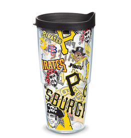 TERVIS Pittsburgh Pirates 24oz Tervis All Over Print Tumbler