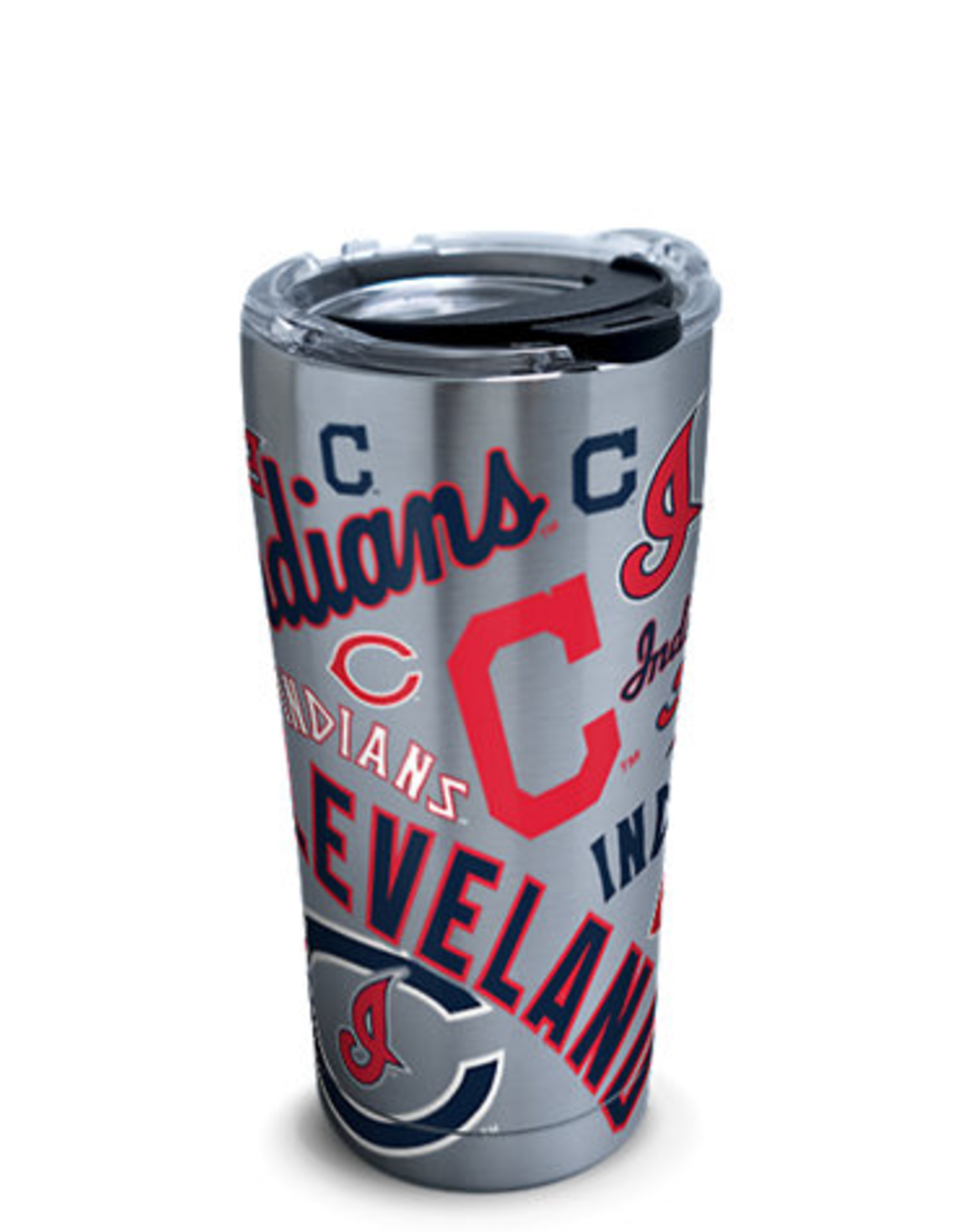 TERVIS Cleveland Indians TERVIS 20oz Stainless All Over Tumbler