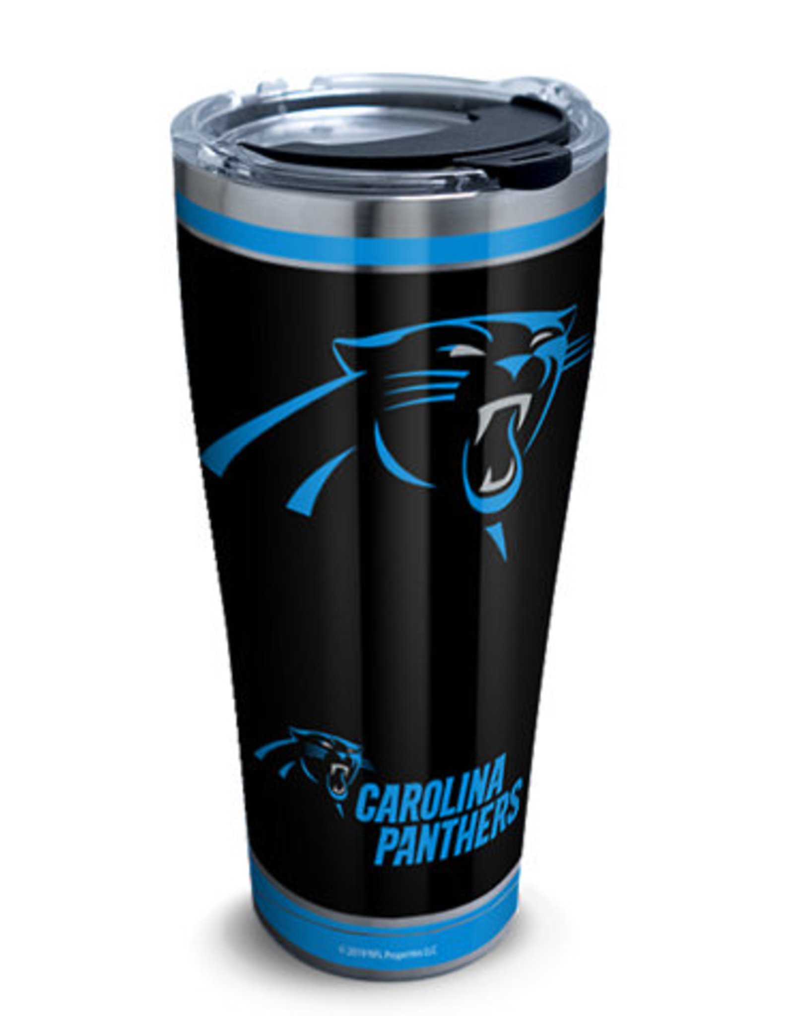 TERVIS Carolina Panthers 30oz Tervis Touchdown Stainless Tumbler