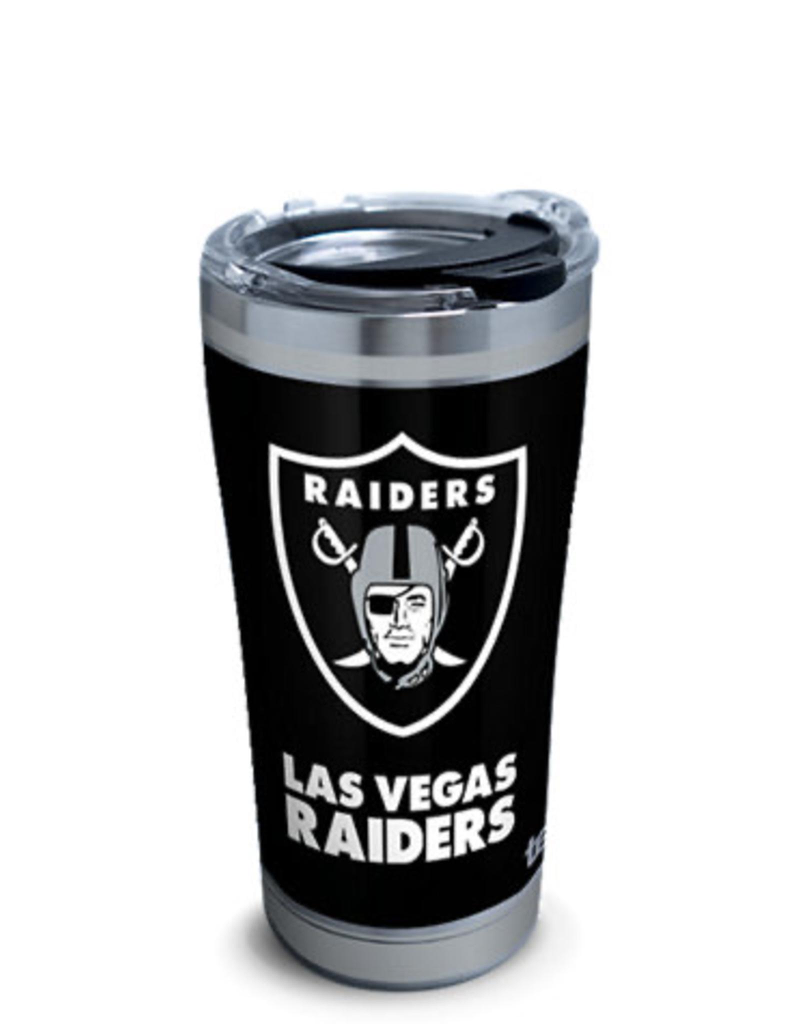 TERVIS Las Vegas Raiders 20oz Tervis Touchdown Stainless Tumbler