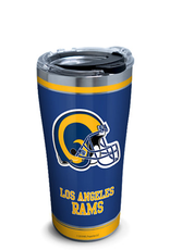 TERVIS Los Angles Rams 20oz Tervis Touchdown Stainless Tumbler