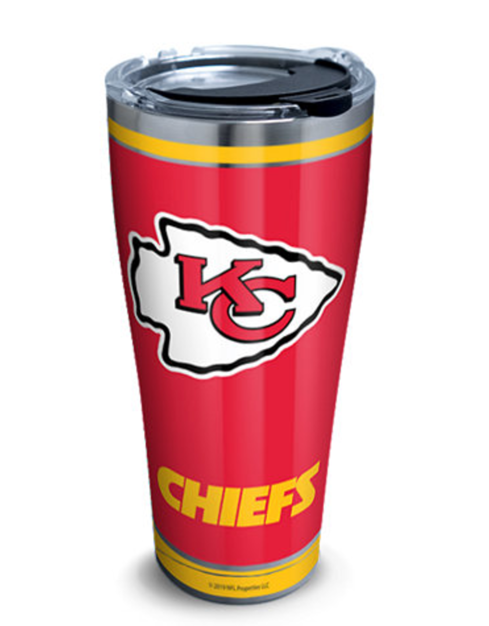 TERVIS Kansas City Chiefs 30oz Tervis Touchdown Stainless Tumbler