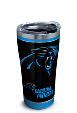 TERVIS Carolina Panthers 20oz Tervis Touchdown Stainless Tumbler