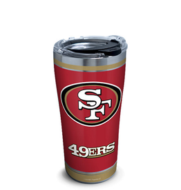 TERVIS San Francisco 49ers 20oz Tervis Touchdown Stainless Tumbler