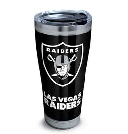 TERVIS Las Vegas Raiders 30oz Tervis Touchdown Stainless Tumbler