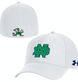 UNDER ARMOUR Notre Dame Fighting Irish Under Armour Blitzing Stretch Fit Cap