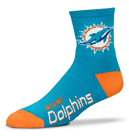 FOR BARE FEET Miami Dolphins Men's Team Socks