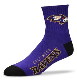 FOR BARE FEET Baltimore Ravens Youth Team Socks